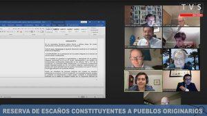 Comisión de Constitución del Senado aprueba agregar escaños reservados para pueblos indígenas en la convención